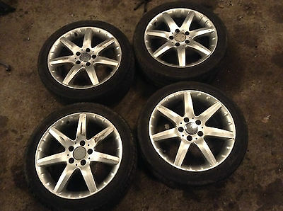Mercedes-Benz C W203 Coupe 17'' 7.5 J Wheel Set With 225/45 tyres 2034011802