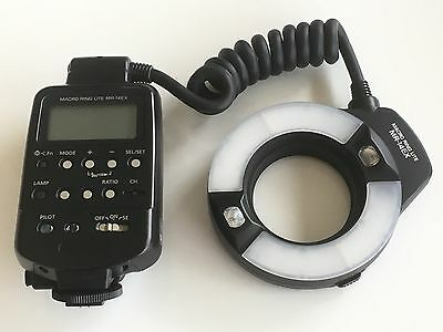 Canon MR 14EX Ring Light/Macro Flash for For Canon