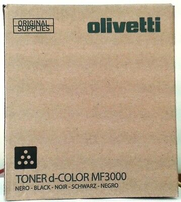 Olivetti D-COLOR MF3000 Black Toner B0891 A0X51L2