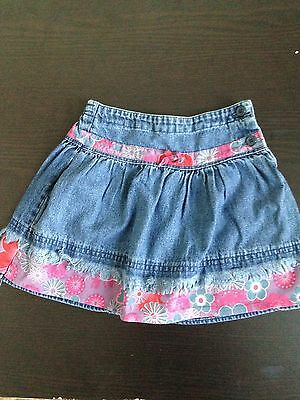 TU jeans skirt, new without tags, 18-24 months