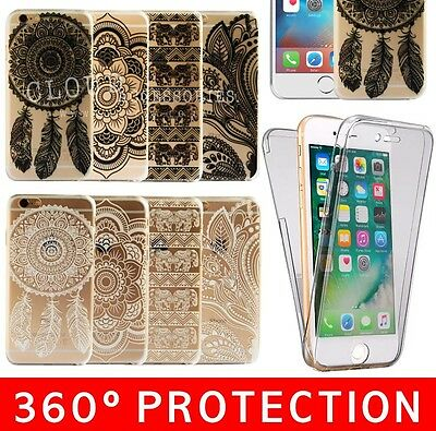 Henna 360º Dream Catcher Black Cover Phone Case for iPhone 5 / 5s  se
