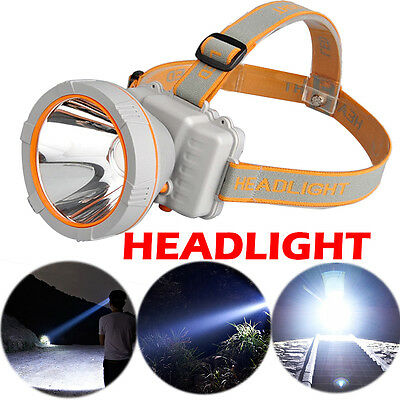 LED Headlamp Headlight Waterproof Rechargeable Light Torch for Hiking Camping UK