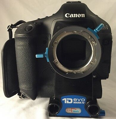 Canon EOS 1D mark 4 with PL Mount professional modification, build like a Tank i