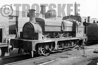 Larger Negative Industrial Steam loco Seaham Harbour Mars RS 2238/75 1959