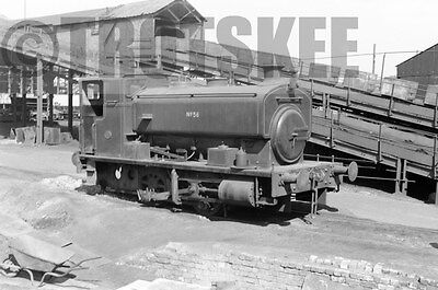Larger Negative Industrial Steam loco NCB Bowburn Colliery No 56 1959 AB 2322/52