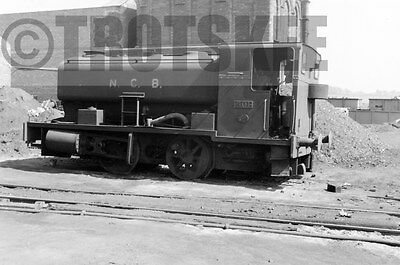 Larger Negative Industrial Steam loco NCB Bearpark Colliery 501 1959 AB 2281/50