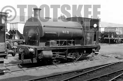 Larger Negative Industrial Steam loco NCB Bankfoot Colliery 14 1959 P 1467/17
