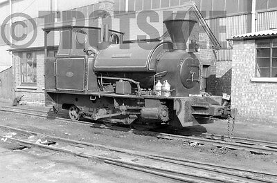 Larger Negative Industrial Steam Bowaters Railway Sittingbourne Premier 1958