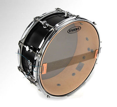 "Evans S14H30 Hazy 300 14"" Snare Drum Head Skin. Under Side, Bottom Snare Head."
