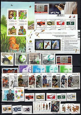 A12084/ Canada / Lot Stamps 2012 / Mint Mnh 105€