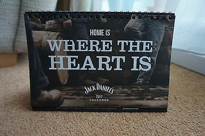 Official Jack Daniels 2017 Desk Calendar