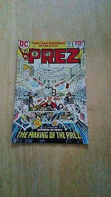 Prez Issue Number 1 (1973)