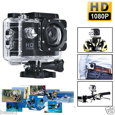 Action Sport Recorder Camera Camcorder 1080P Full HD Mini DV Cam+Parts for Gopro