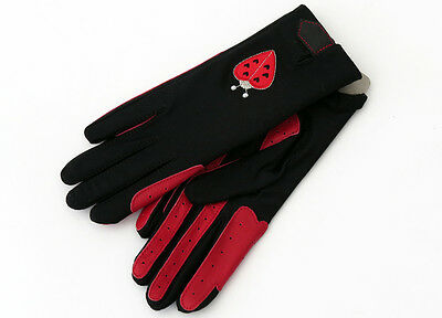 Bugs and Kisses Horse Riding Gloves. (Age 10yrs + / Ladies Gloves) - REDUCED