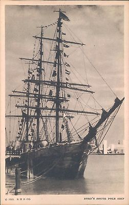 Century of Progress Postcard, Official Post Card # 217 Byrd's South Pole Ship