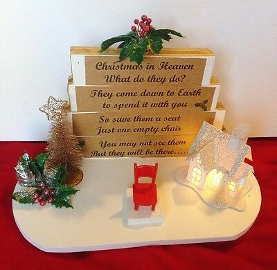 "Christmas In Memory ""Save a Seat"""