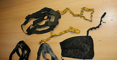 SWAT SEAL Konvolut Bluewater + CMC Rescue Harness Absturzsicherung Geschirr