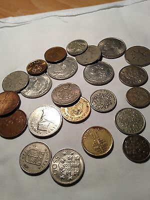 Joblot of Mainly very old Portuguese coins - see all pictures!