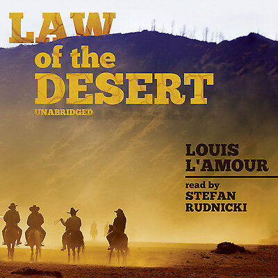 Law of the Desert by Louis L'Amour CD 2014 Unabridged