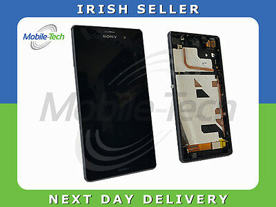 Sony Xperia Z3 D6603 Genuine Lcd Touch Screen Display Digitizer With Glass Black