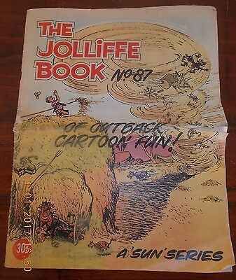JOLLIFFE'S COMIC No 87  'THE JOLLIFFE BOOK' ' VERY  RARE ISSUE' FINE  CONDITION