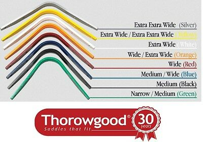EX DISPLAY Thorowgood T4 Interchangeable S Gullet Bars For Cob & Pony GP Saddles