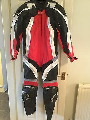 Frank Thomas Armasport Kevlar Race Leather One Piece Suit