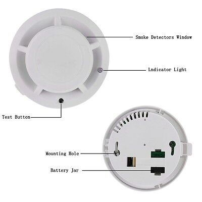 Battery Operate Combination Carbon Monoxide and Smoke Alarm CO & Smoke Detector