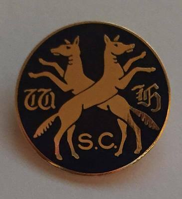 Wynnstay Hunt Supporters Club WHSC Foxhound Hunting Enamel Pin Badge