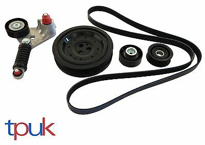 FORD MONDEO MK3 FAN BELT TENSIONER KIT CRANKSHAFT PULLEY 2.0 2.2 TDDi TDCi 00-07