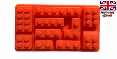 Lego mould brick mold block cake sweets making sugar craft gummy silicone mould