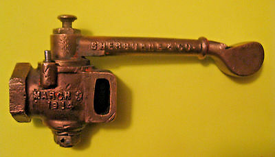 SCARCE ANTIQUE 1914 SHERBURNE & Co. RAILROAD RAILWAY CABOOSE BRASS STEAM WHISTLE