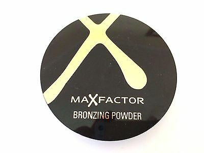 MAX Factor Bronzing Powder - 21g - Please Choose Shade GOLDEN OR BRONZE