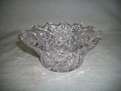 Vintage Imperial EAPG / Brilliant Glass Candy / Nut Bowl Dish