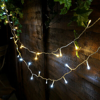 50 Led Battery Outdoor Garden Party Patio Hanging 5M Fairy String Wire Lights