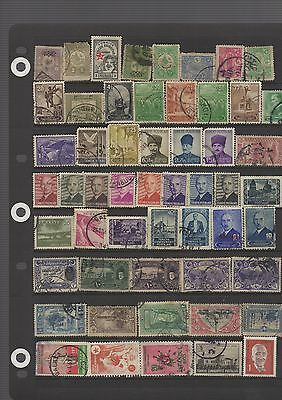 Turkey; Nice '   Stamp Lot. Displayed On 7 Sheets. See Scans