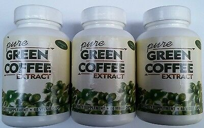 Pure Green Coffee Extract With CLA 50% 180 Capsules 3 Months Supply