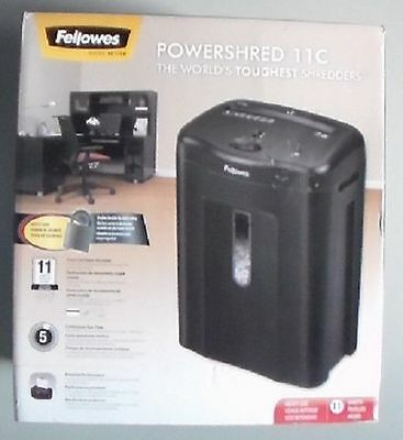 Fellowes Powershred 11C Cross-Cut Shredder - CRC43501