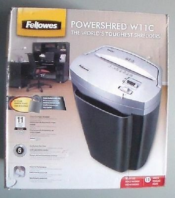 Fellowes Powershred 11C Cross-Cut Shredder - CRC43502