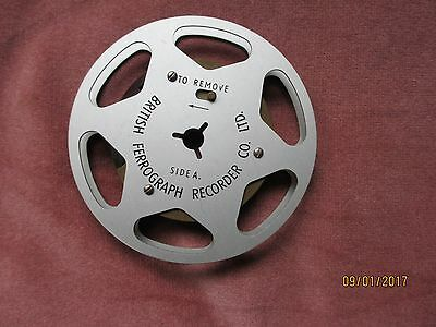 British Ferrograph Tape Recorder Reel. 3/3/4 ""