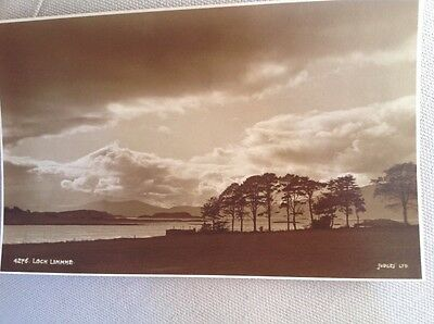 Loch Linnhe, Scotland Judges postcard