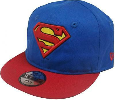 New Era Superman Hero Essential 9fifty 950 Infant Snapback Cap Kids Toddler Baby