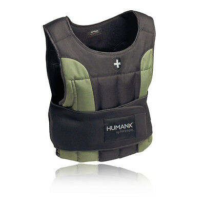 Harbinger Human X Weight Hombres Negro Chaleco Deportivo Con Pesas 10Lb/4.5Kg