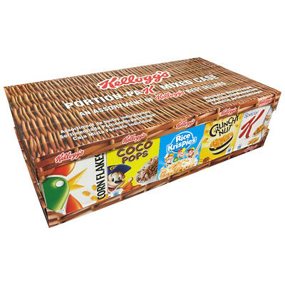 Kelloggs Variety Pack (larger portions) 5 Variety case, B&B ,Hotel,Guest House
