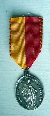 CHILDREN OF MARY ORPHANAGE BEAUNE SILVER MEDAL, 1872, VG condition