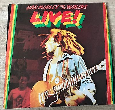 Bob Marley and the Wailers LP LIVE! '1975 Island w. Poster