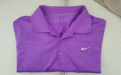 Men's Nike Golf Polo Shirt  - Dry Fit  - Small