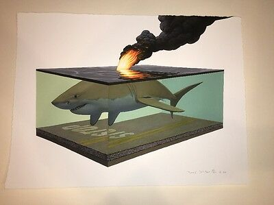 "Josh Keyes ""SCORCH I"" Signed & Numbered  Print 2011"