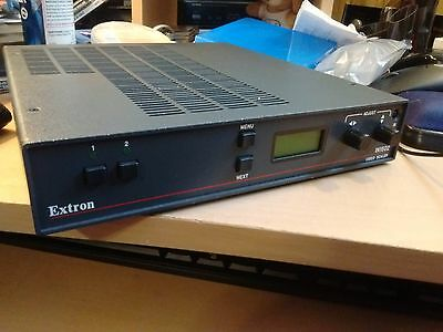 For Video Games - Extron IN1502 2-Input Video Scaler VGA Comp S-Vid PS1 Nintendo