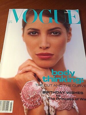 1991 July VOGUE SPECIALIST SHOP stylish free gift wrap